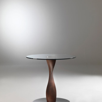 G. Carollo Spin Side Table