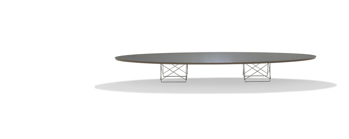 Charles Eames And Ray Elliptical Table