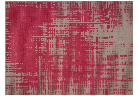 Charlotte Lancelot Canevas Red Abstract Rug