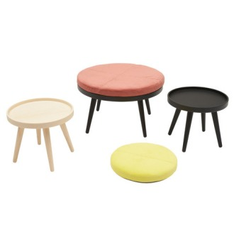 Charlotte Høncke Alma Pouf And Table