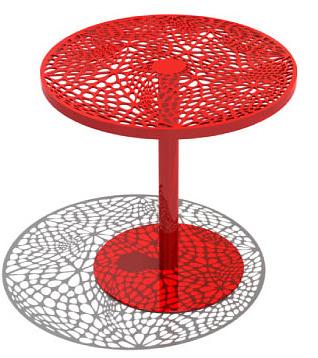 Chris Kabatsi Coral Cafe Table