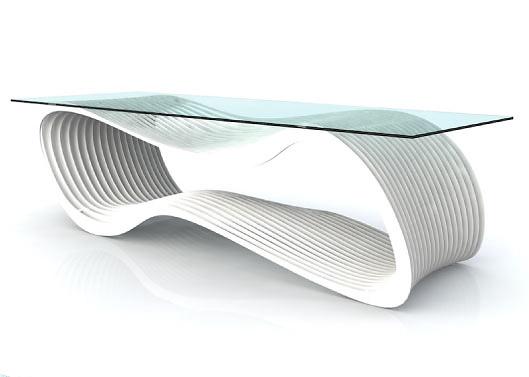 Chris Kabatsi Loop Coffee Table