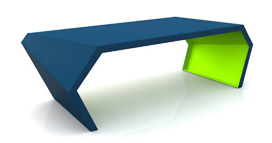 Chris Kabatsi Pac Coffee Table