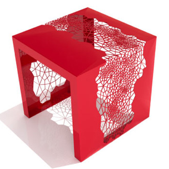 Chris Kabatsi Hive Side Table