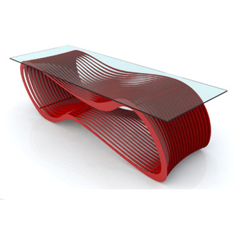Chris Kabatsi Loop Coffee Table