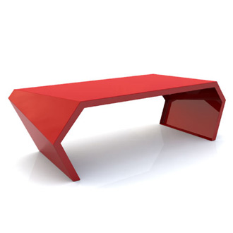 Chris Kabatsi Pac Coffee Table