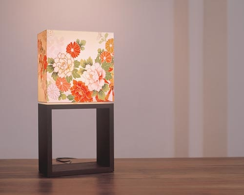 Christian Finke and Sai So Kimono Lamp