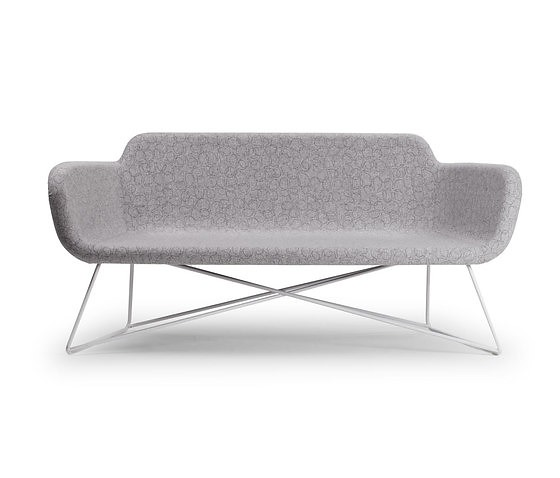 Christophe Bourban and Luciano Dell'Orefice Slight Armchair With Sofa
