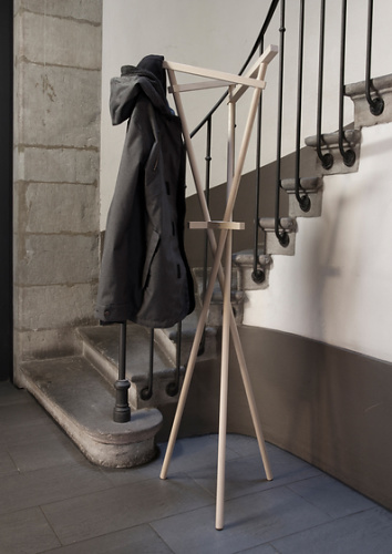 Constantinos Hoursoglou 36 Side Table And Coat Rack