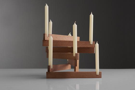 Constantinos Hoursoglou Links Candle Holder