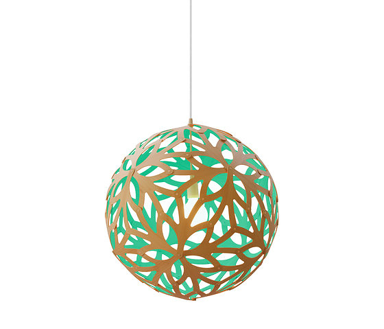 David Trubridge Floral Pendant Lamp