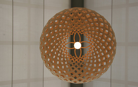 David Trubridge Kina Pendant Lamp