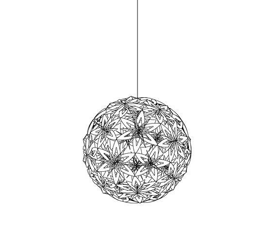 David Trubridge Manuka Pendant Lamp