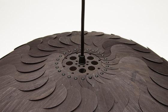 David Trubridge and Marion Courtillé Beau Pendant Lamp Collection