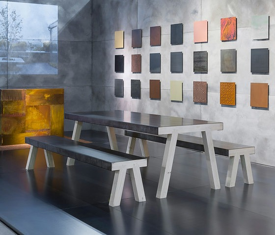 De Castelli Mastro Table And Bench