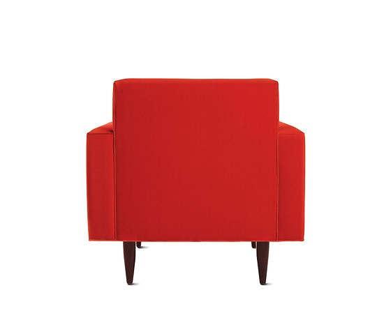 Design Within Reach Bantam Armchair With Pouf