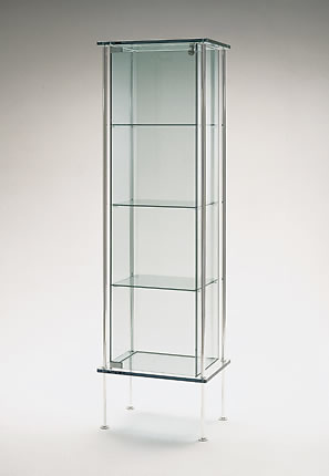 Donato D'Urbino and Paolo Lomazzi Shine Display Cabinet