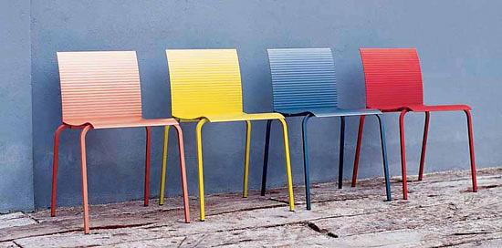 Donato D'Urbino and Paolo Lomazzi T-Tina Chair