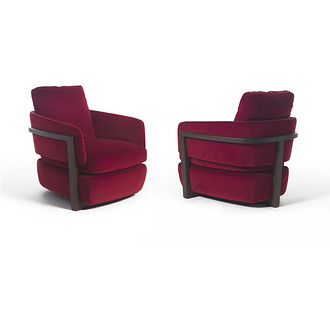 E. Gallina Arena Armchair and Sofa