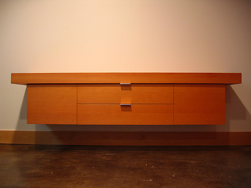 Furniture Floating Credenza