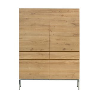 Ethnicraft Oak Ligna Wardrobe