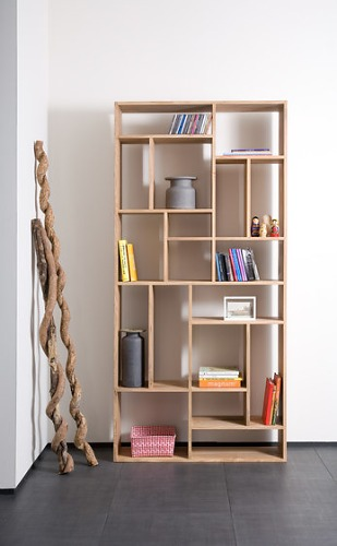 Ethnicraft Oak M-Rack Bookcase