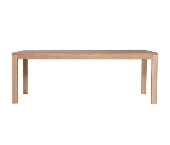 Ethnicraft Oak Straight Dining Table