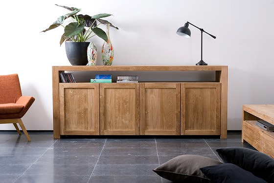Ethnicraft Teak Double Sideboard