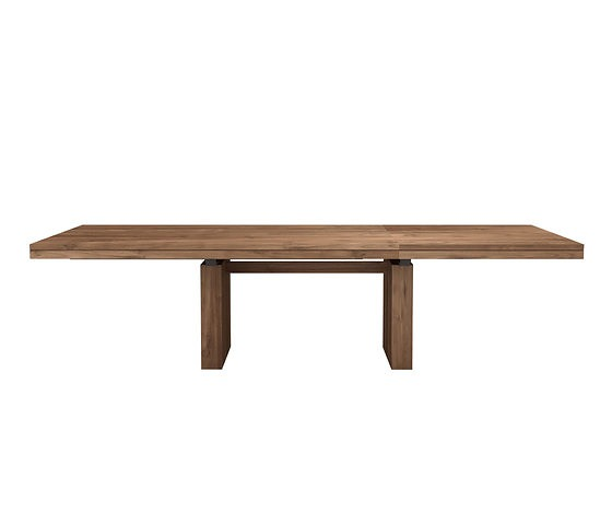 Ethnicraft Teak Double Table Collection