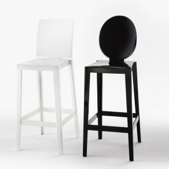 Eugeni quitllet and philippe starck one more stool for Chaise de philippe starck