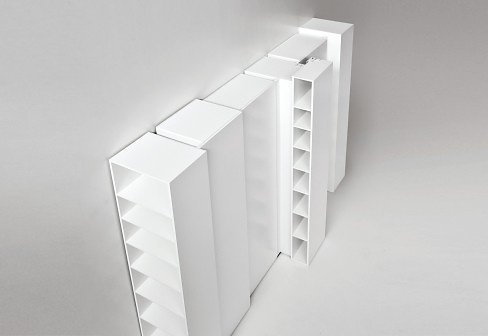 Eva Paster and Michael Geldmacher Blio Shelving