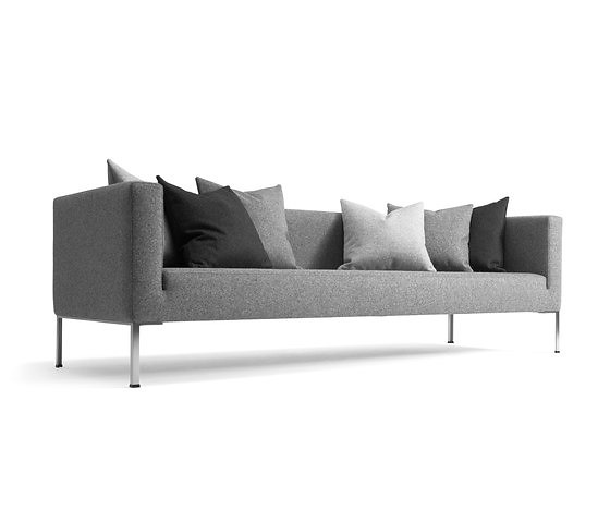 Flemming busk globe two seating collection for Chaise longue halle