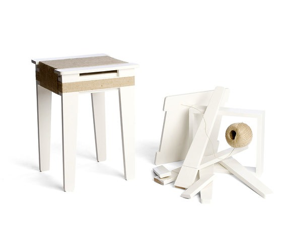 Floris Hovers Wrapped Stool