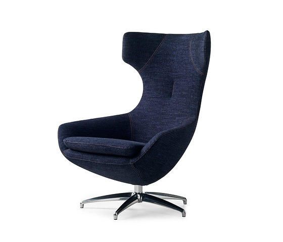 Frans Schrofer Caruzzo Armchair With Pouf