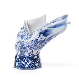 Front Blow Away Vase