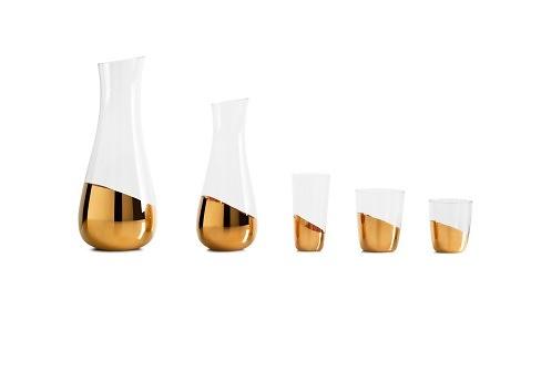Front Midas Vases