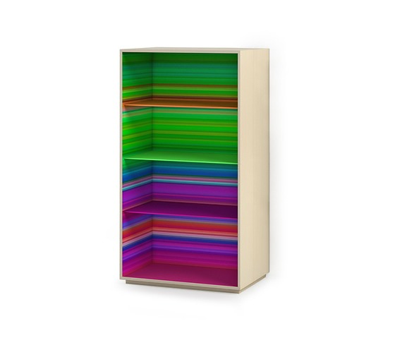 Garth Roberts Color Fall Bookcase