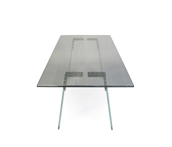 Gerard Der Kinderen Local Glass Glass Table