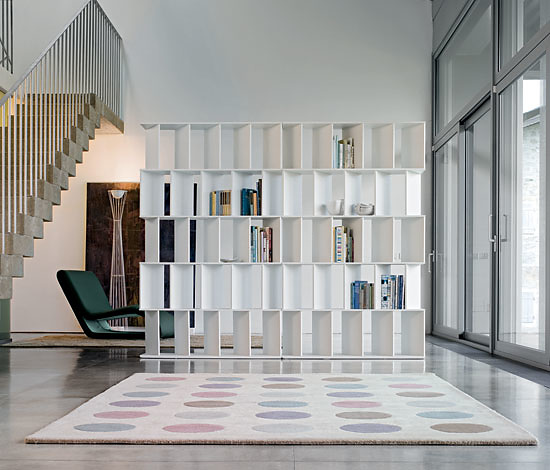 Gino Carollo Cubic, Orbit and Fun Bookshelves