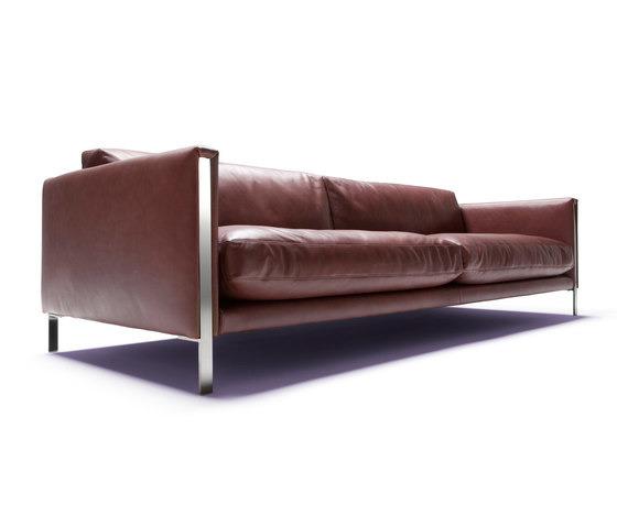 Giorgio Leather Reclining Sofa: Giorgio Soressi Prezioso Sofa