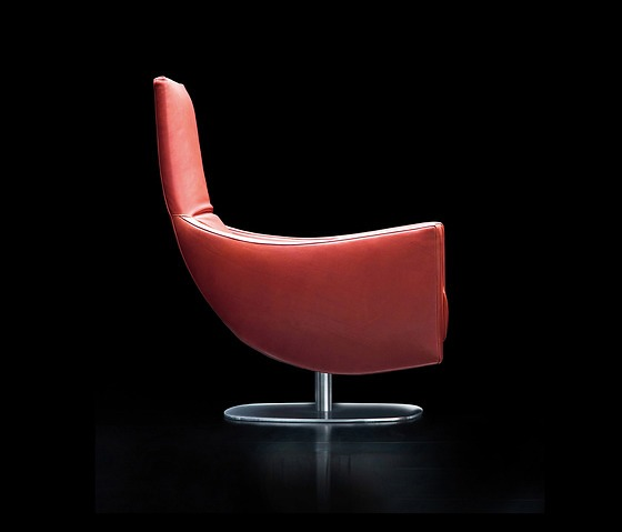 Giorgio Soressi Upper Armchair With Footstool