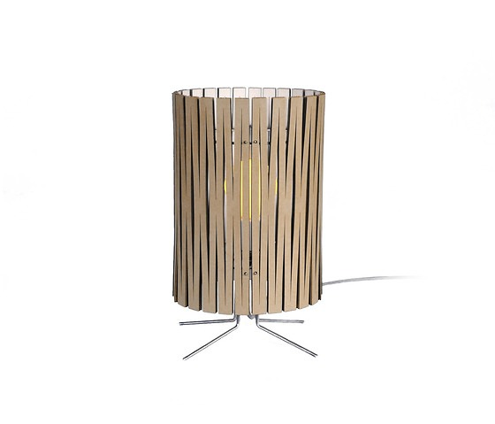 Graypants Kerf Lamp Collection