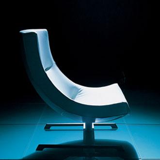 Hannes Wettstein Spin Armchair and Otoman