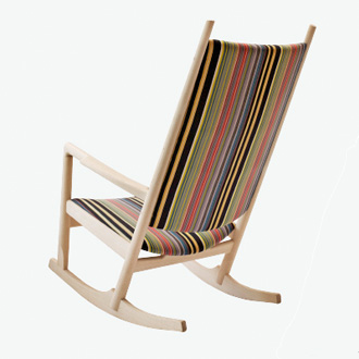 Hans J. Wegner PP126 Rocking Chair