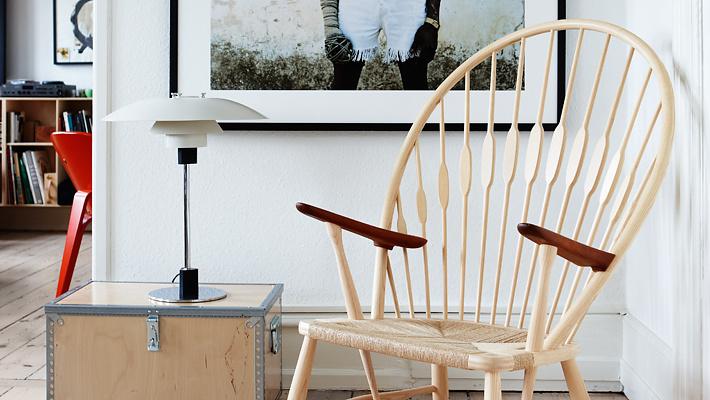 Hans J. Wegner PP550 The Peacock Chair