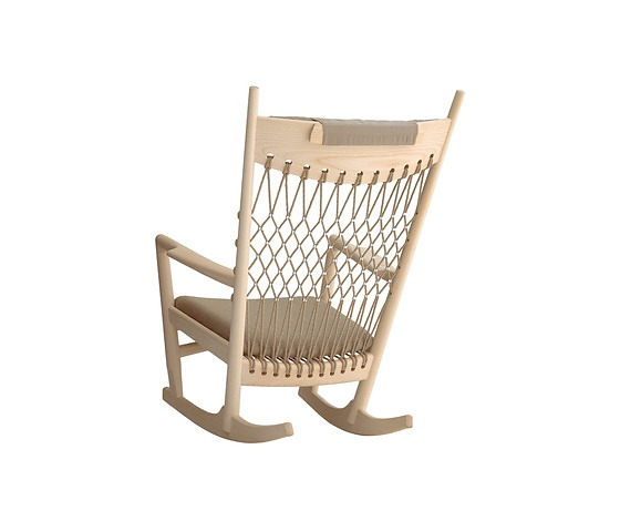 Hans J. Wegner PP 124 Rocking Chair