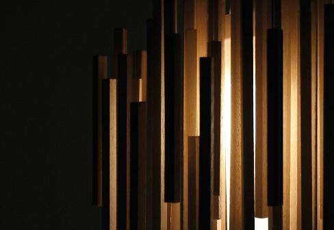 Hector Serrano Woods Lamp