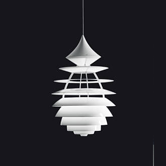 Poul Henningsen and Kurt Norregaard LP Centrum Lamp