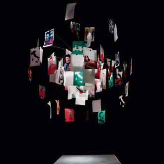 Ingo Maurer Zettel'z Viva Italia Lamp