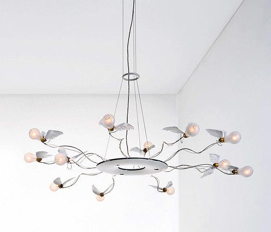 Ingo Maurer Team Birdie´s Ring Lamp
